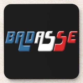 BADASSE FRANCE DRINK COASTER