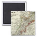 Baden, Germany 2 Inch Square Magnet
