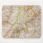 Baden Germany Atlas Map Mouse Pad