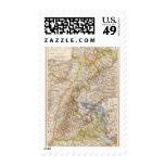 Baden Germany Atlas Map Postage Stamp
