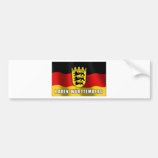 Baden-Wuerttemberg coat of arms Bumper Sticker