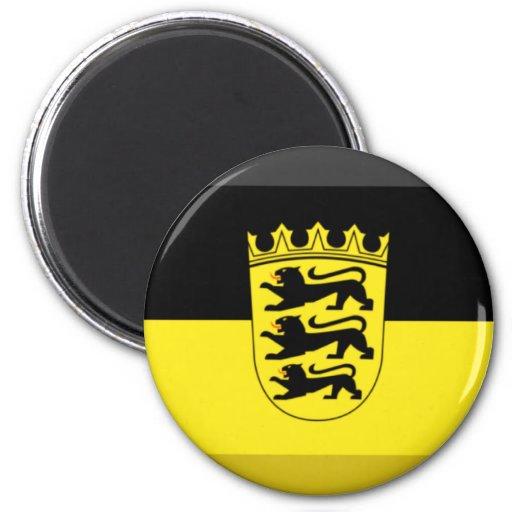 Baden-Wuerttemberg Flag Gem Magnets
