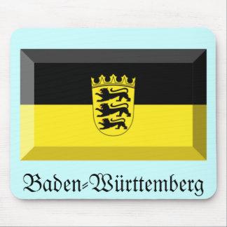 Baden-Wuerttemberg Flag Gem Mouse Pad