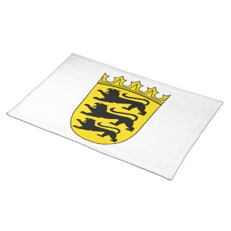 Baden-Wuerttemberg small Landeswappen Cloth Placemat