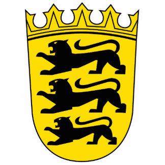 Baden-Wuerttemberg small Landeswappen Cutout