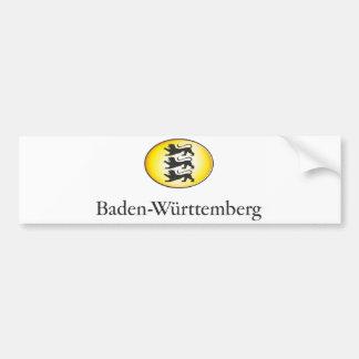 Baden-Wuerttemberg Wappenzeichen Car Bumper Sticker