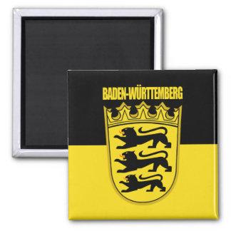 Baden-Wurtemburg Lesser Arms 2 Inch Square Magnet