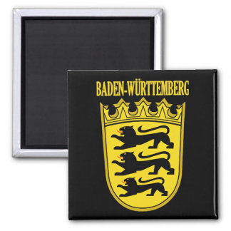 Baden-Wurttemberg 2 Inch Square Magnet