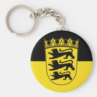 Baden-Württemberg (estado, pocos brazos), Alemania Llavero Redondo Tipo Pin