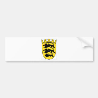 Baden-Württemberg (Germany) Coat of Arms Bumper Sticker