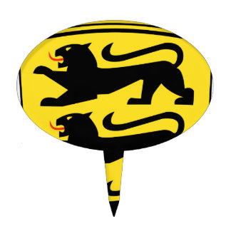 Baden-Württemberg (Germany) Coat of Arms Cake Topper