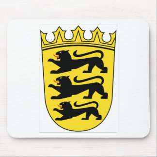 Baden-Württemberg (Germany) Coat of Arms Mouse Pad