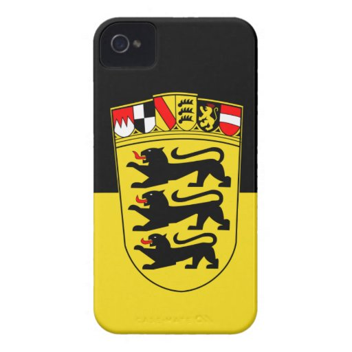 Baden-Württemberg iPhone 4 Case-Mate Cases