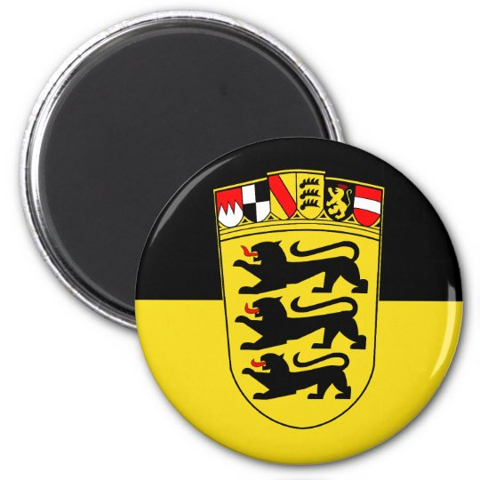 Baden-Württemberg(State, Greater Arms), Germany Magnet
