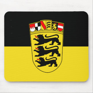 Baden-Württemberg(State, Greater Arms), Germany Mouse Pad