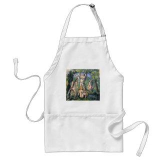 Badende - 1880 adult apron