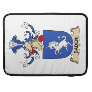 Badeni Family Crests Sleeve For MacBook Pro