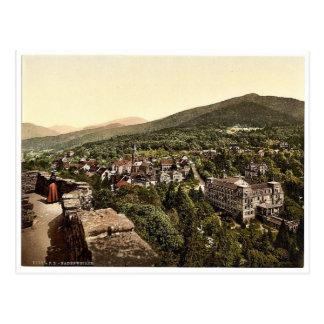 Badenweiler, Black Forest, Baden, Germany rare Pho Postcard