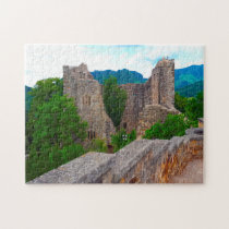 Badenweiler Castle Black Forest. Jigsaw Puzzle