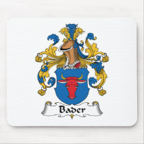 Bader Family Crest Mousepad