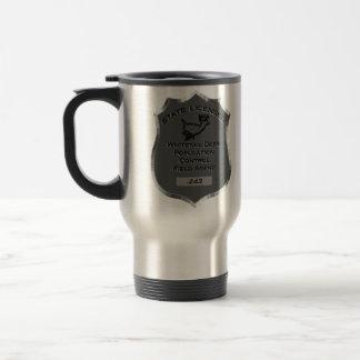 Badge # .243  Whitetail Deer Field Agent Mug