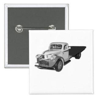 Badge cuadrada, 1941 camión de Chevrolet, Chev, Pins