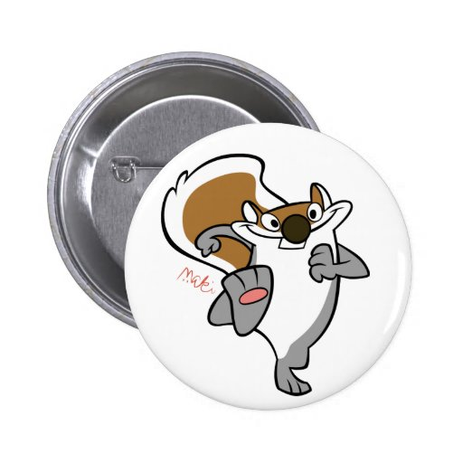 badge grey squirrel buttons