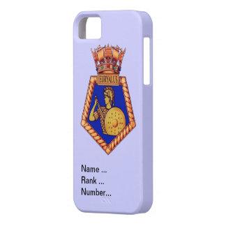 Badge HMS Eurayalis, Name, rank Number iPhone SE/5/5s Case