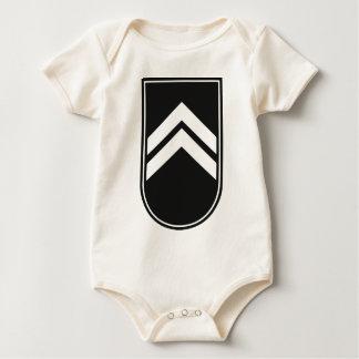 Badge honor badge baby bodysuit