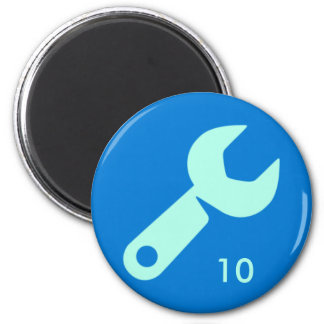 Badge Magnet - Wrench 10