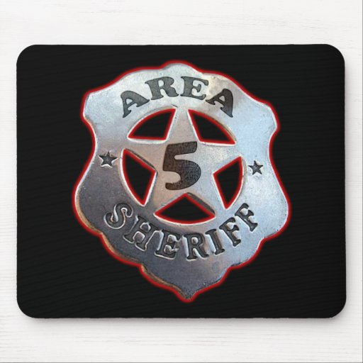 Badge Mouse Pad