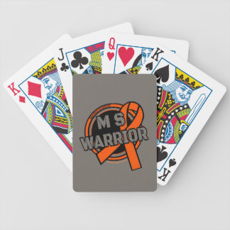 Badge...MS Bicycle Playing Cards