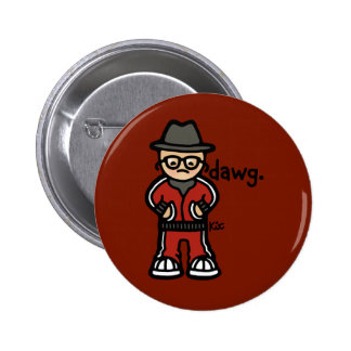 badge of badness. button