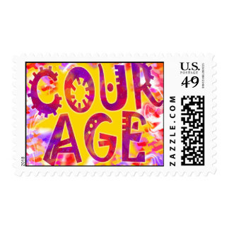 Badge Of Courage Stamps