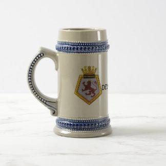 Badge of HMS Devonshire Beer Stein