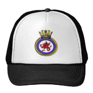 Badge of HMS Drake Trucker Hat