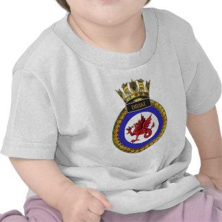 Badge of HMS Drake Shirts