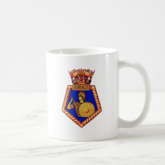 Badge of HMS Euryalus, Former British Naval vessel Coffee Mug