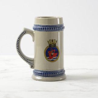 Badge of HMS Fife Beer Stein