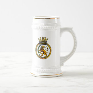 Badge of HMS Nelson Beer Stein