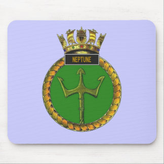 Badge of HMS Neptune Mouse Pad