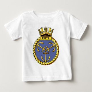 Badge of HMS Rhyl Baby T-Shirt