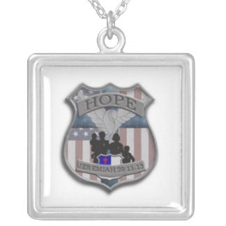 Badge of Hope Necklace
