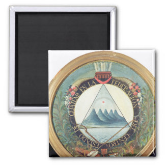 Badge of the Federation of Guatemala Fridge Magnets