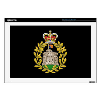 """Badge of the House of Windsor 17"""" Laptop Skin"""