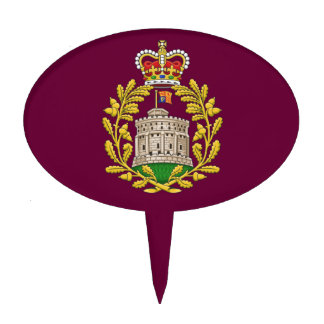 Badge of the House of Windsor Cake Topper