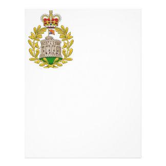 Badge of the House of Windsor Letterhead