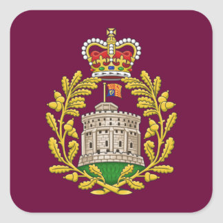 Badge of the House of Windsor Square Sticker