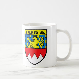 Badge of the Jura region of France Coffee Mug
