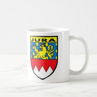 Badge of the Jura region of France Coffee Mugs